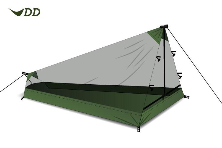 DD Hammocks Superlight Pathfinder Mesh Tent