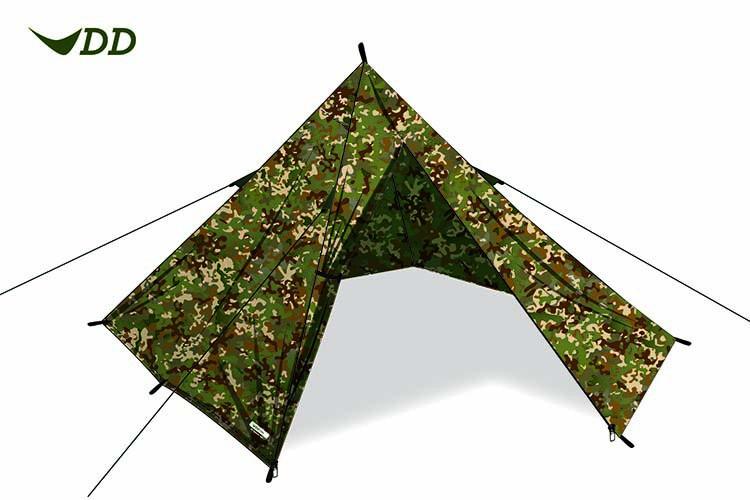 Tente tipi DD Hammocks Pyramid Tent MC