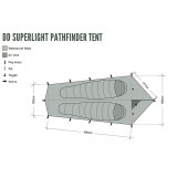Dimensions Abri DD Hammocks SuperLight Pathfinder Tent