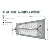 Dimensions DD Hammocks Superlight Pathfinder Mesh Tent