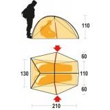 Dimensions Ferrino Nemesi 2