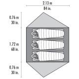 Dimensions Tente Msr Freelite 2