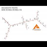 Dimensions Segment d'arceau tente Msr Hubba Hubba NX