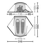 Dimensions Eureka Airstream 2 RS Poly