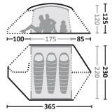 Dimensions Eureka Keego 3