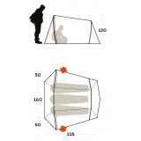 Dimensions Ferrino Lightent 3
