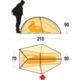 Dimensions Tente Ferrino Nemesi 1