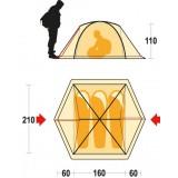 Dimensions tente Ferrino Phantom 3