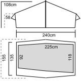 Dimensions Luxe Outdoor Lightwave