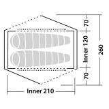 Dimensions Tente Robens Boulder 2