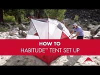 MSR Habitude™ Tent Setup