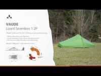 Instruction Manual VAUDE Lizard Seamless 1-2P | VAUDE