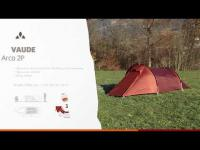 Instruction Manual VAUDE Arco 2P | VAUDE