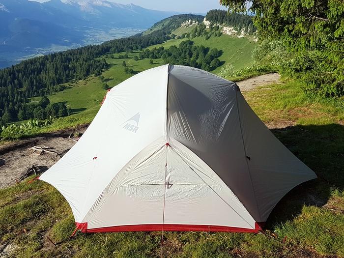 Photo de tente dôme