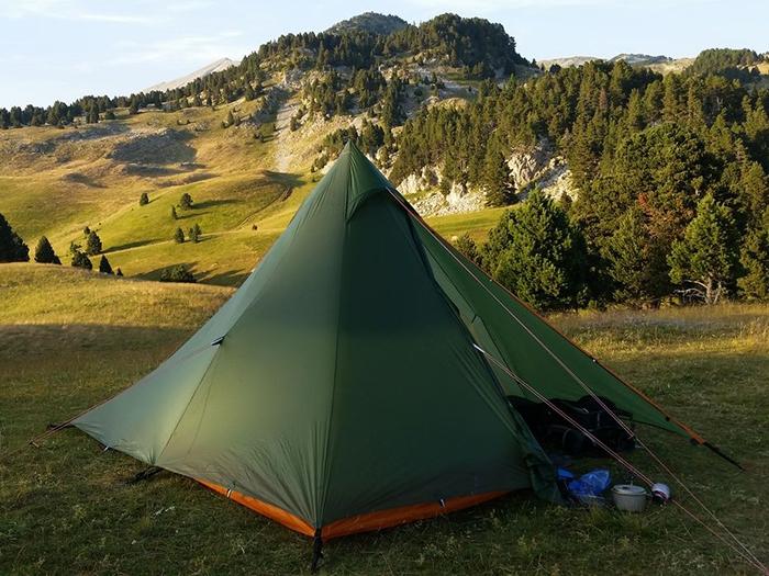 Photo de tente tipi