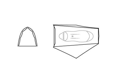 Tente Nemo Hornet 1P