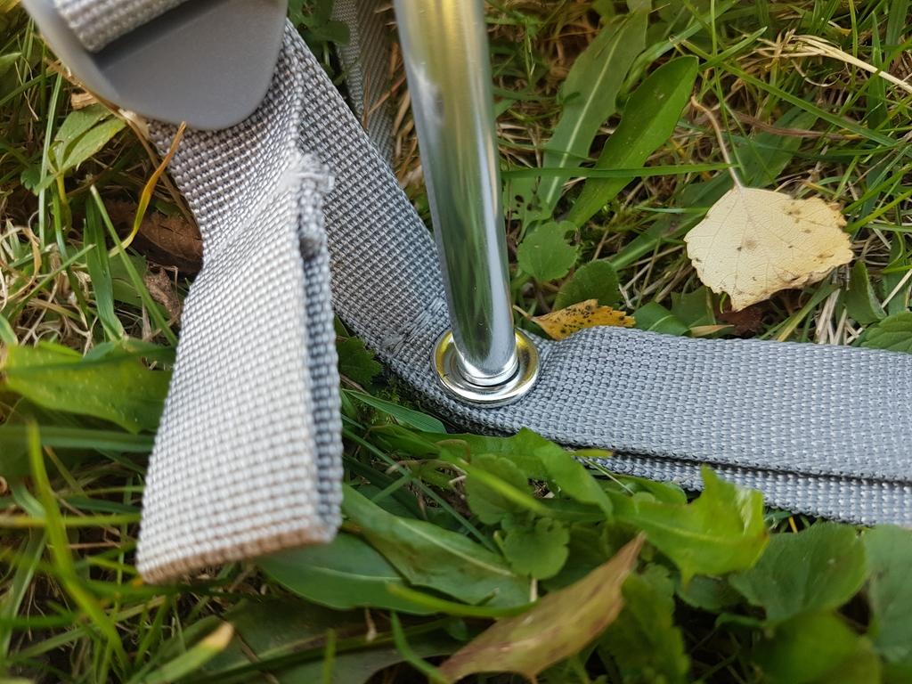 Œillet pour connecter l'arceau en aluminium