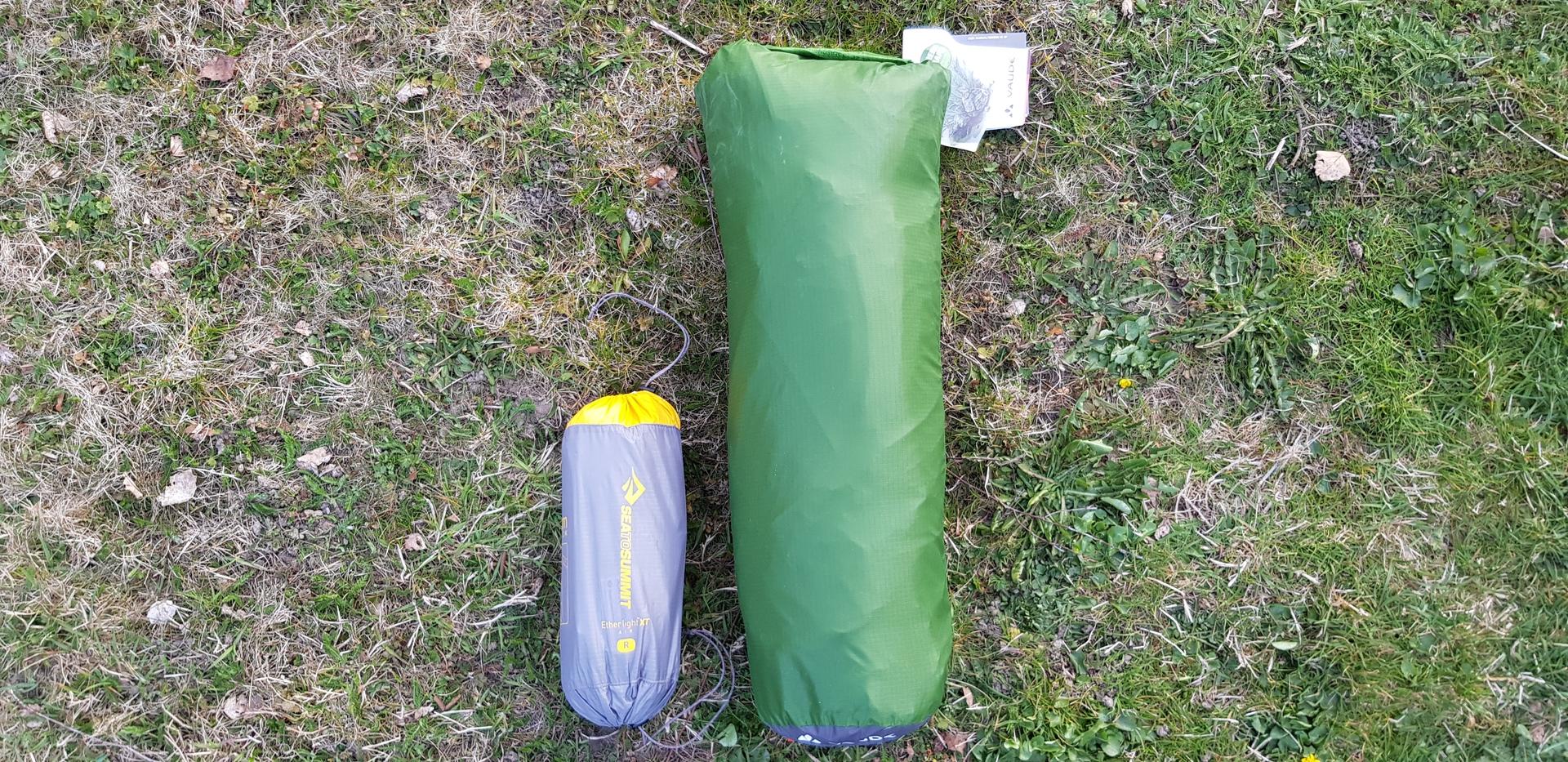 Une tente légère et compacte