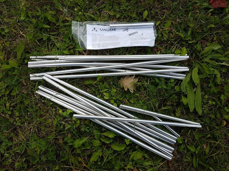 Arceaux robustes en aluminium - 10,3 mm de diamètre