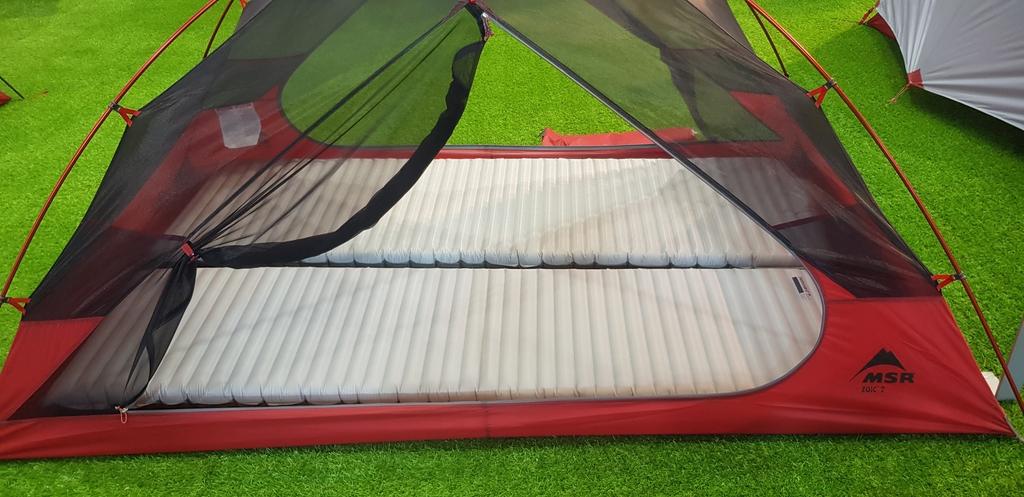 Chambre en tissu mesh - Espace intérieur spacieux
