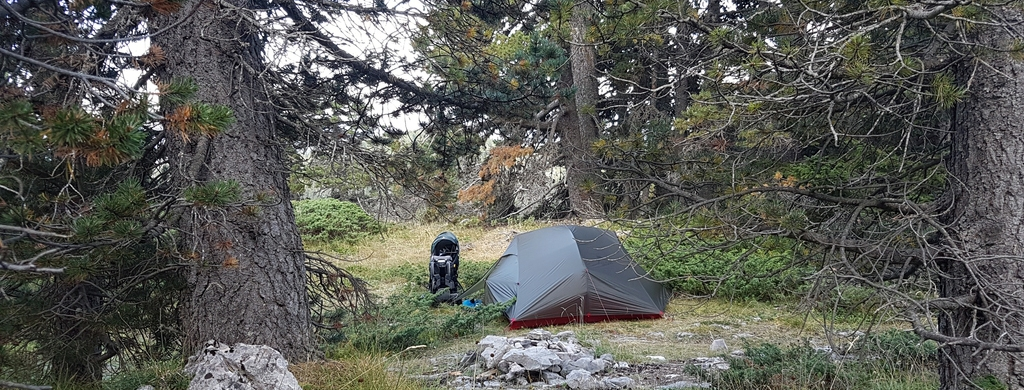 Photo de bivouac en France