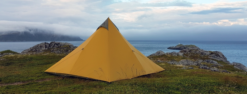 Photo de bivouac en Norvège